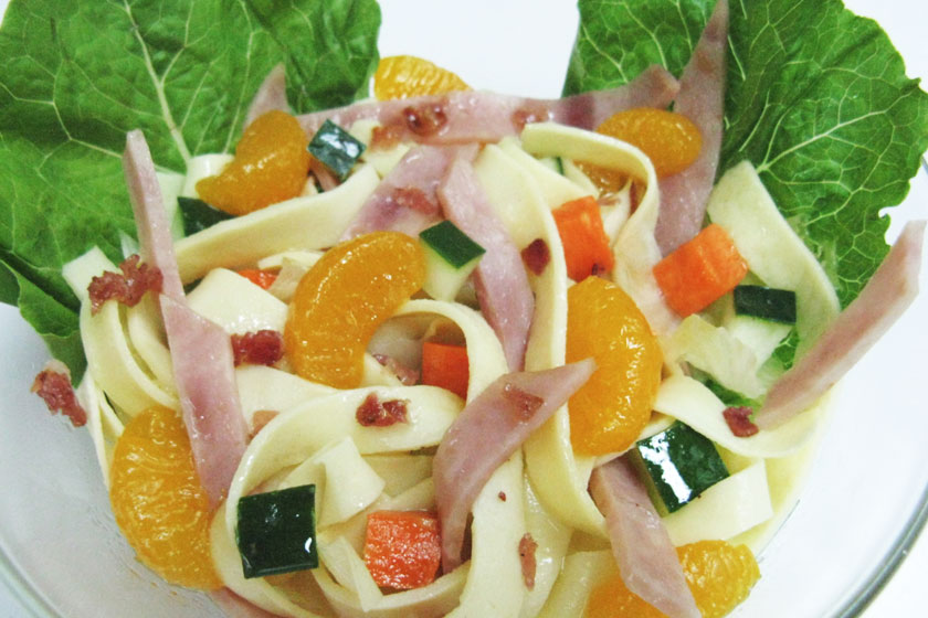 Power Packed Crepe Salad