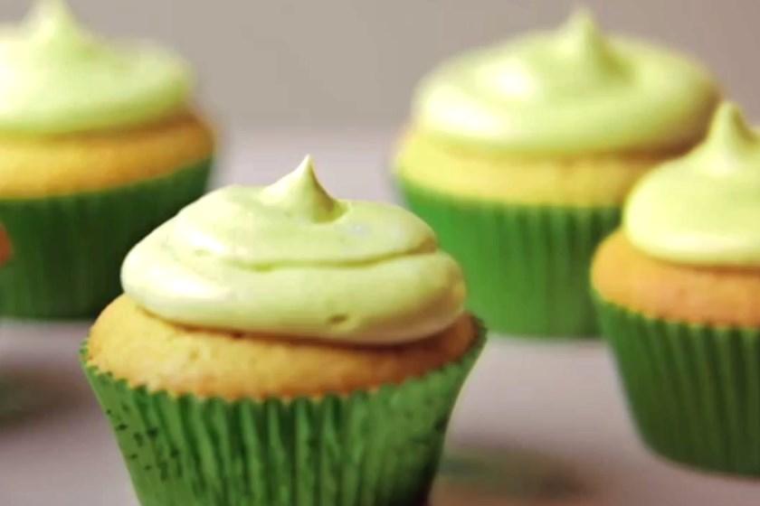 Green Tea Cupcake
