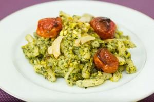 Cavatelli Pasta with Pistachio Pesto