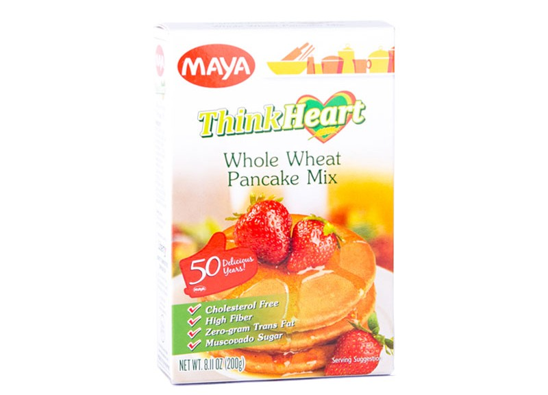Maya Thinkheart Whole Wheat Pancake Mix