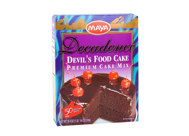Maya Decadence Devil's Food Cake Premium Mix