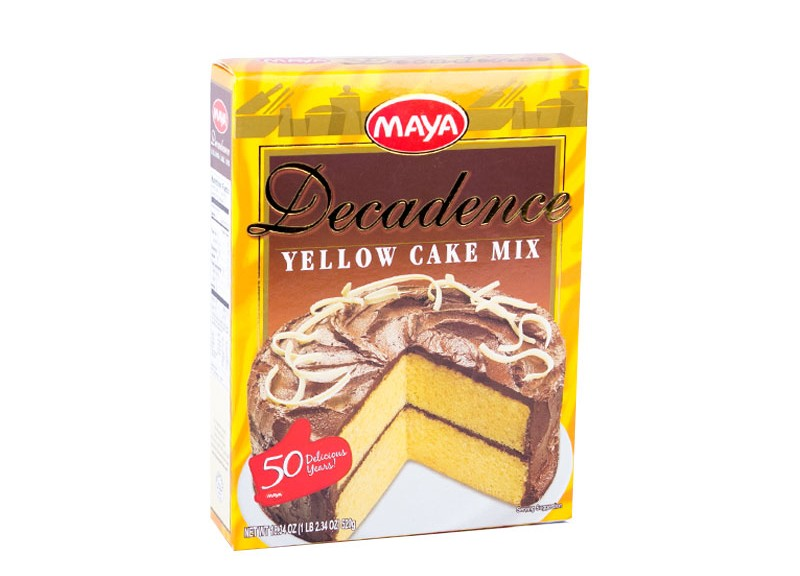 Maya Decadence Yellow Cake Premium Mix