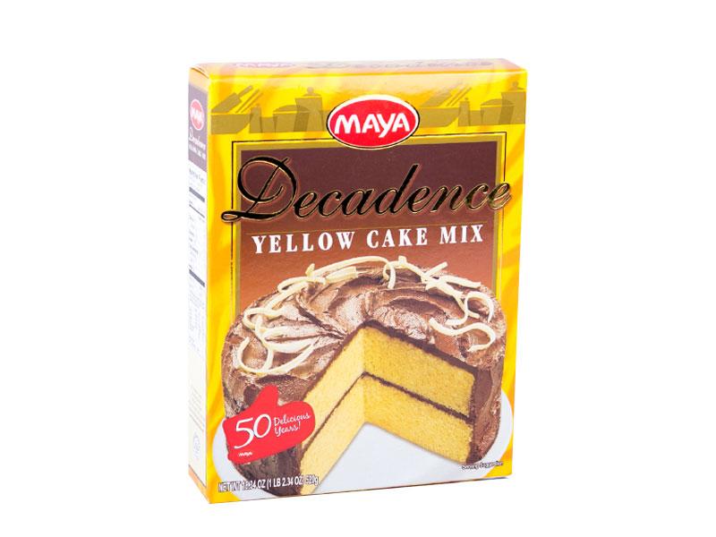 Maya Decadence Yellow Cake Premium Mix
