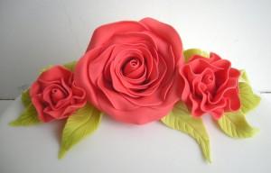 Fondant Flower Toppers