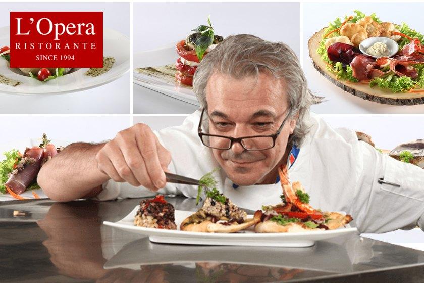 Culinary Elite Series: Chef Paolo Nesi of L'Opera Ristorante