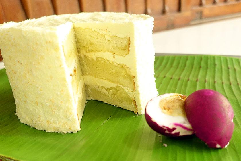 Bibingka Layer Cake