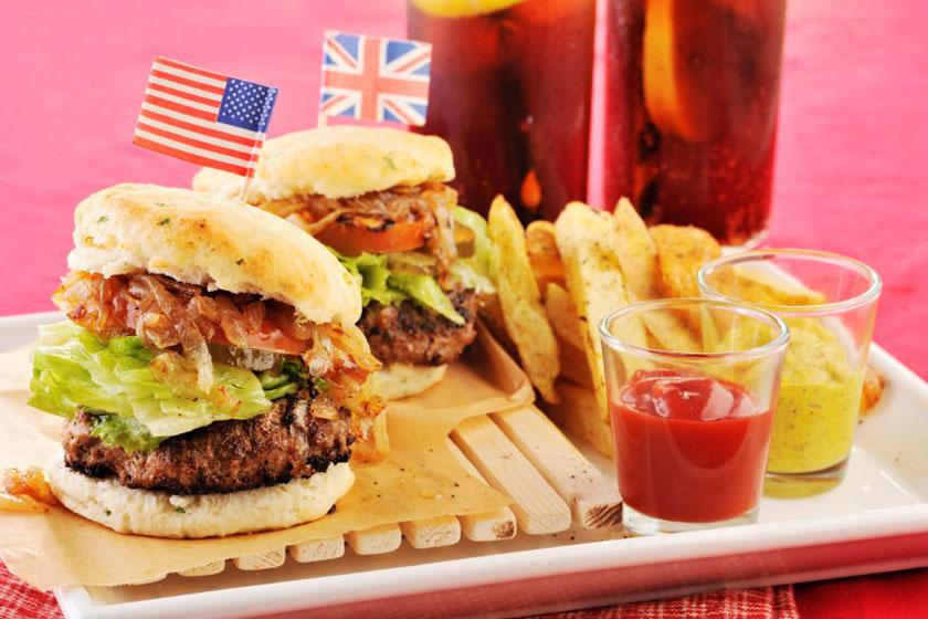 Biscuit Burger