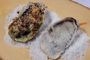 Crystal Bay Oyster (2 ways)