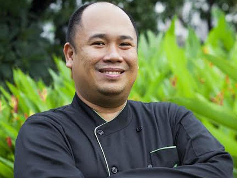 Chef Tatung at The Maya Kitchen