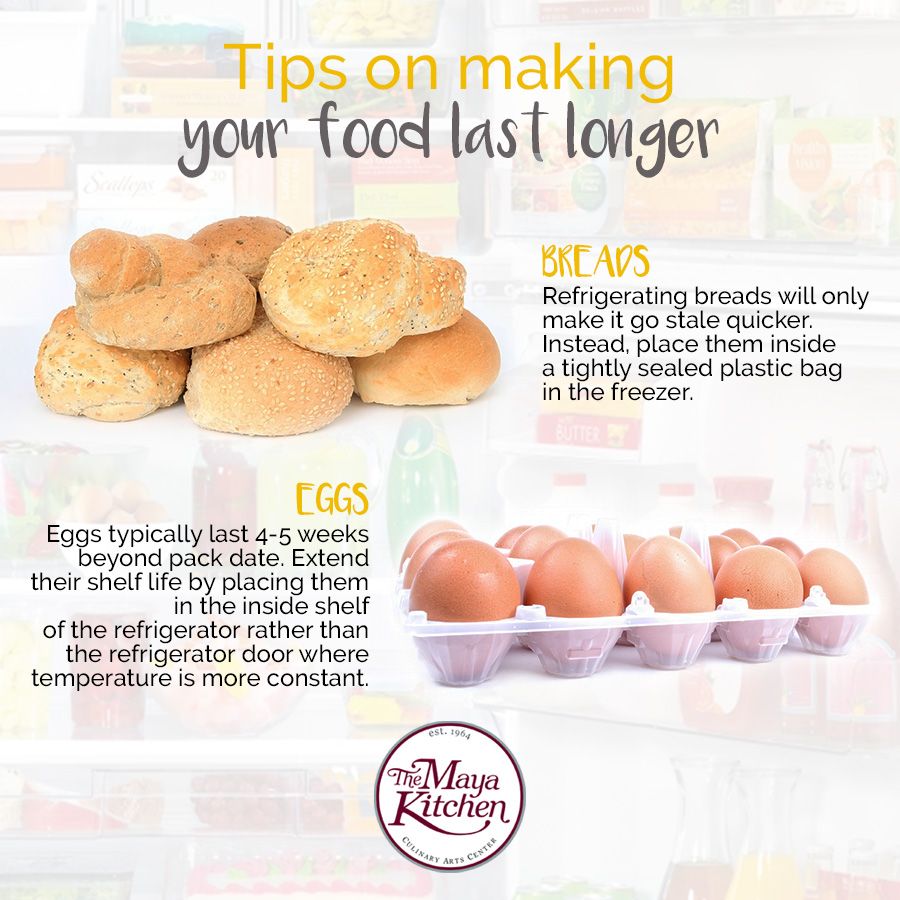 make your food last longer