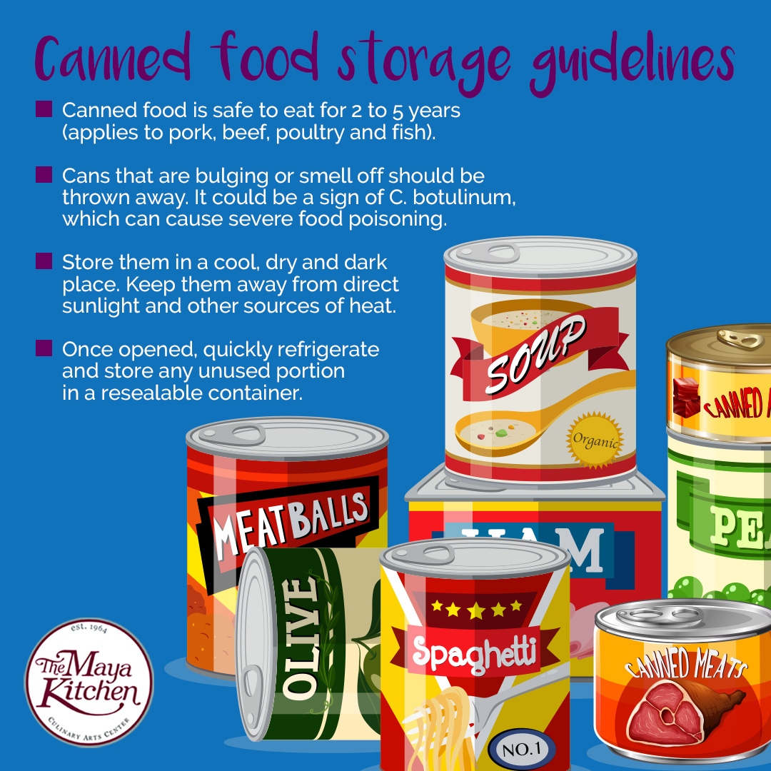 Canned Food Storage Guidelines
