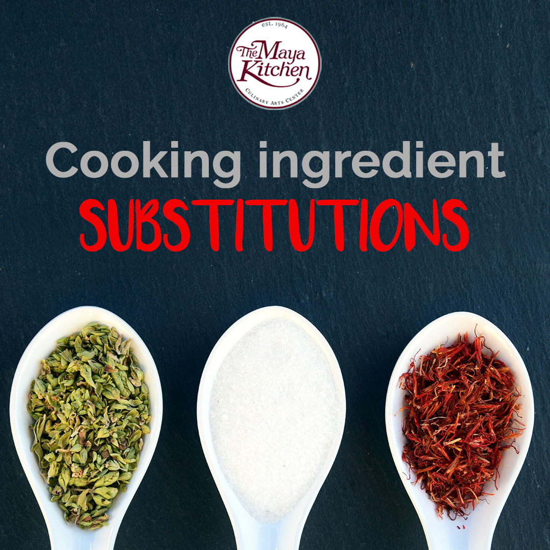 Cooking Ingredient Substitutions