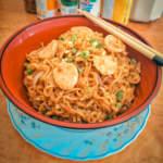Kuey Teow Style Stir-Fried Noodles