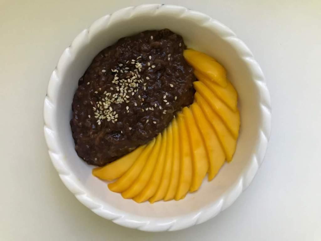 Mango Chocolate Sticky Rice