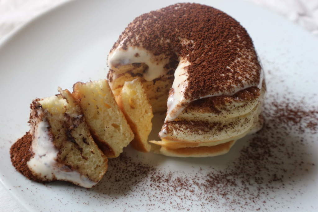 Tiramisu Souffle Hotcakes