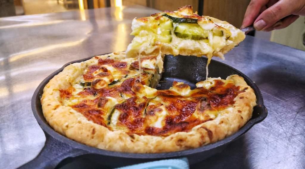 Zucchini Deep-Pan Pizza (1)