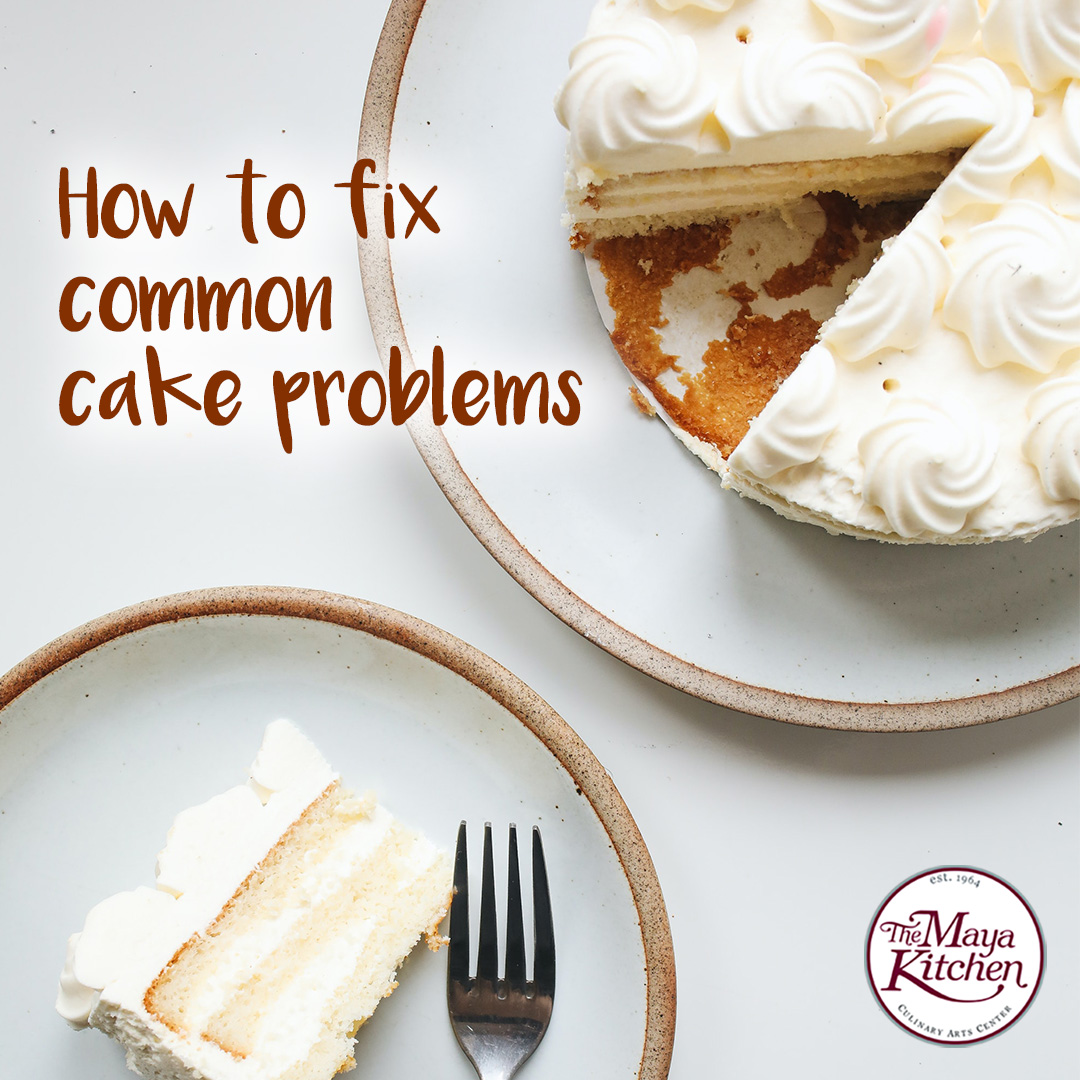 How to fix common cake problems