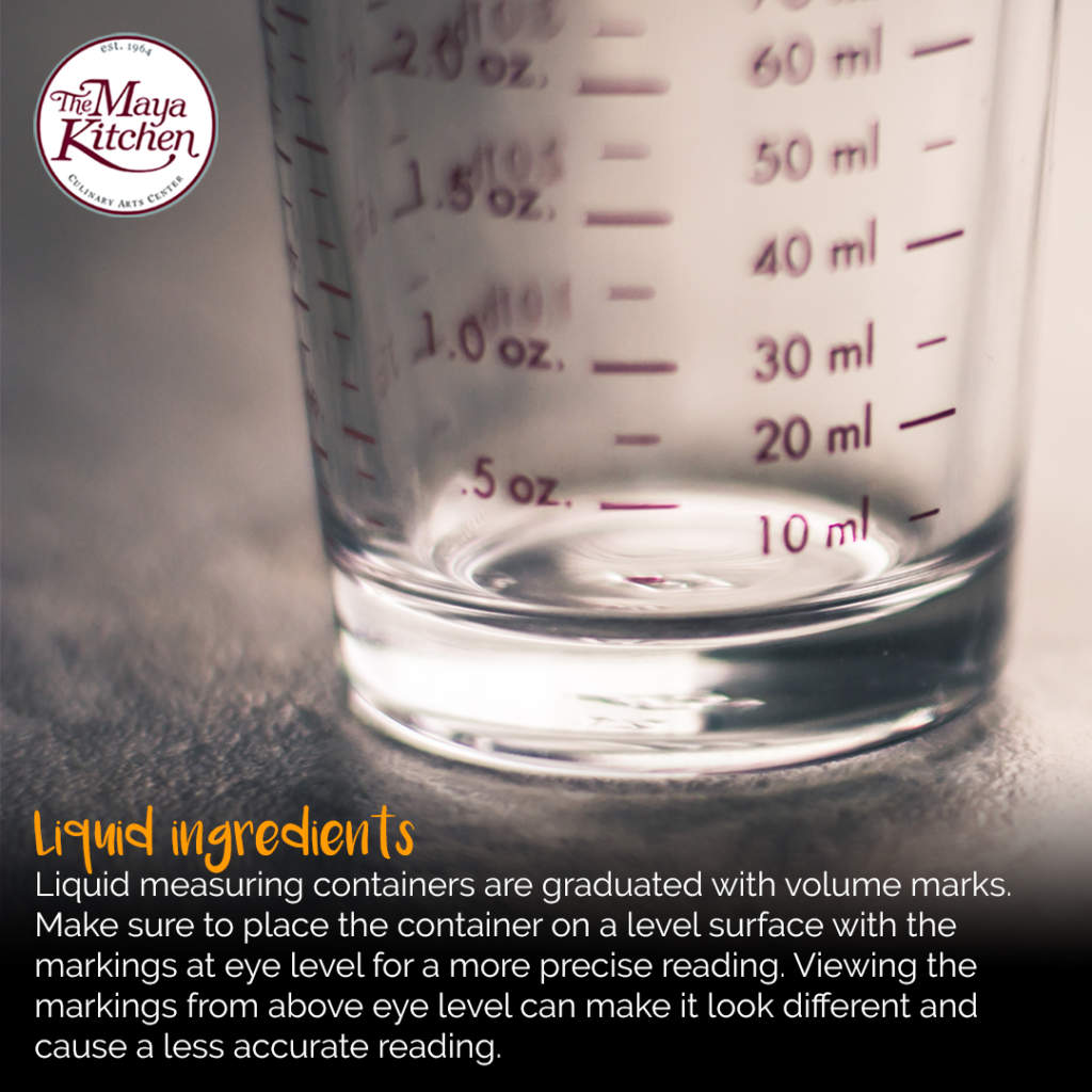 How to Properly Measure Baking Ingredients