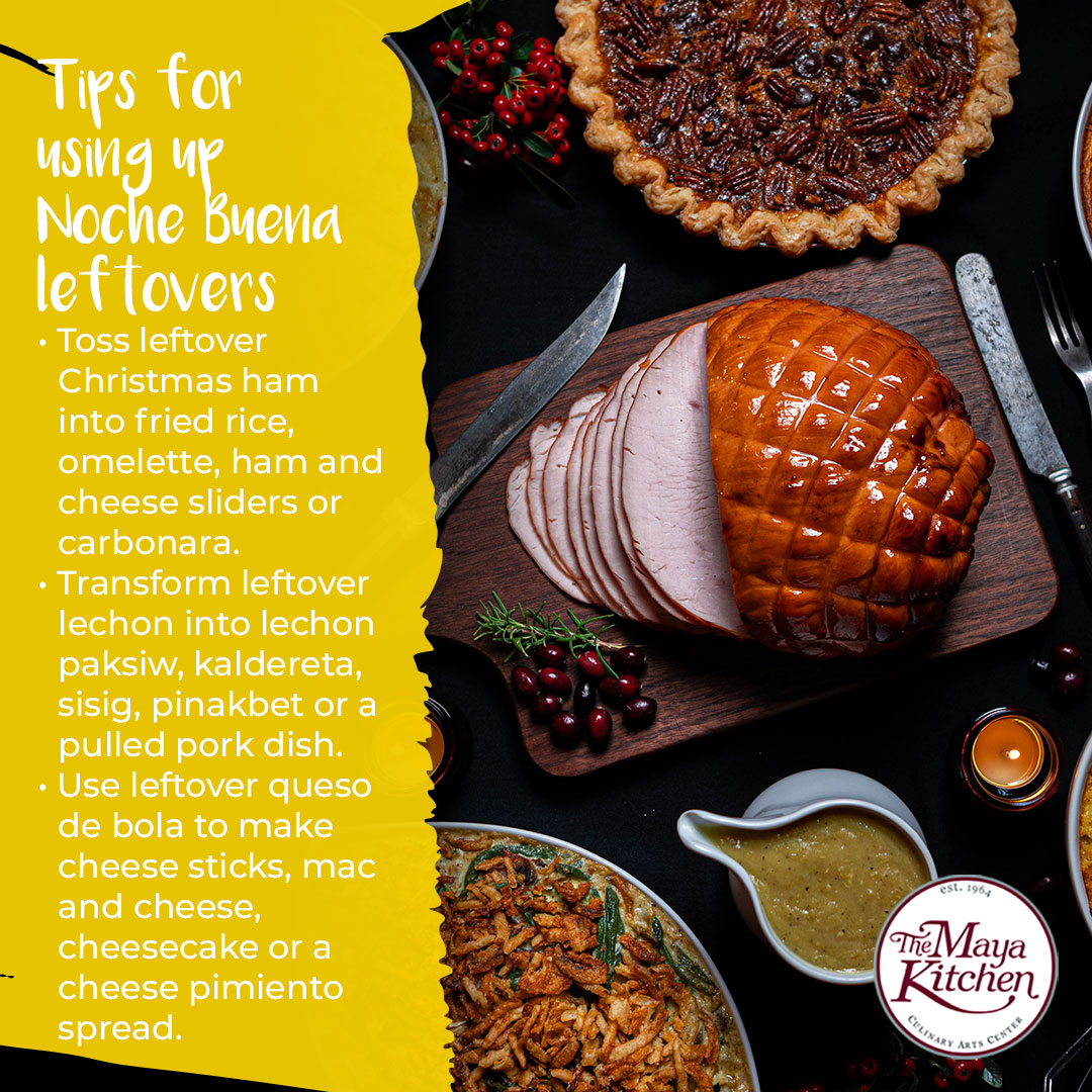 Tips for Using Up Noche Buena Leftovers