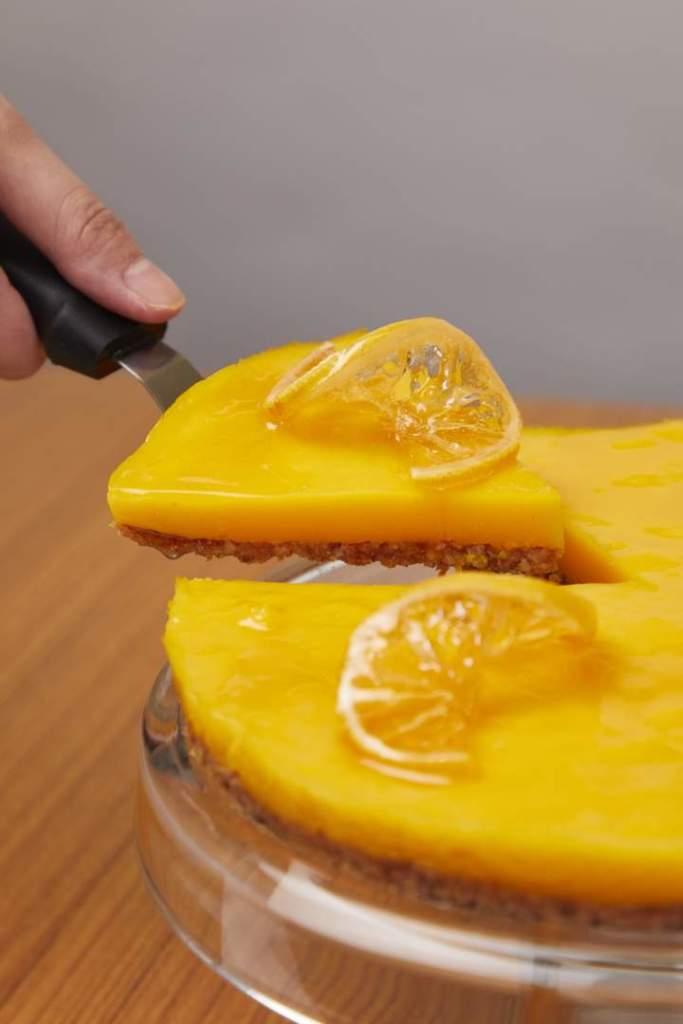 Citrusy Coconut Turmeric Tart