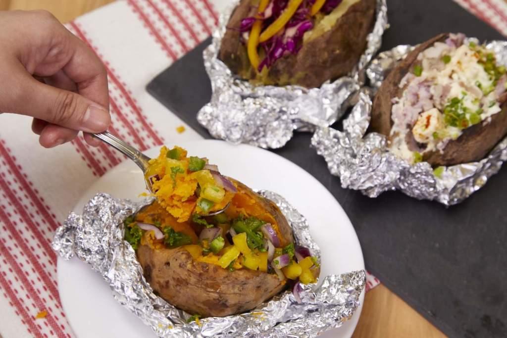 Oven Baked Sweet Potatoes