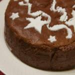 Japanese Style Chocolate Cheesecake