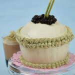 Matcha Milk Tea Cake